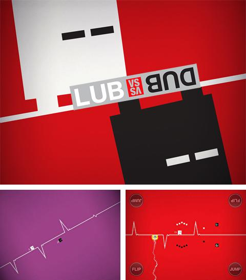 In addition to the game Subway moto escape for iPhone, iPad or iPod, you can also download Lub vs. Dub for free.