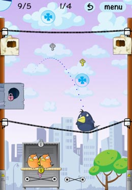 下载免费 iPhone、iPad 和 iPod 版Lucky Birds City。