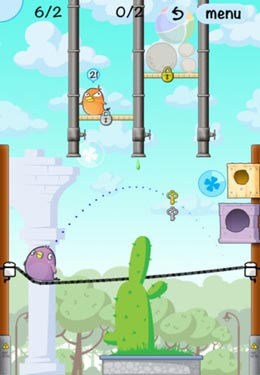 iPhone、iPad 或 iPod 版Lucky Birds City游戏截图。