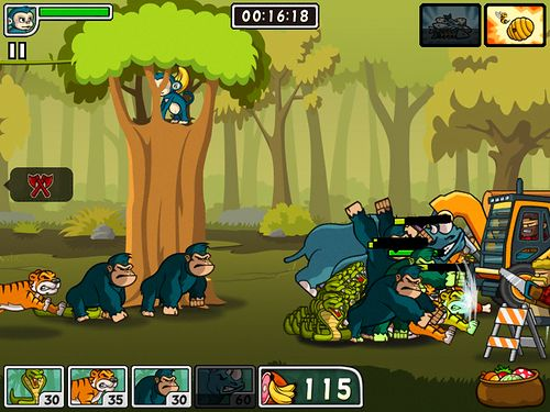 Free Lumber whack: Defend the wild download for iPhone, iPad and iPod.