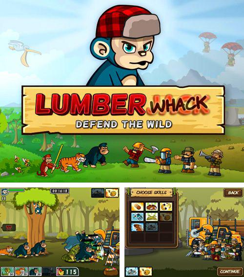 In addition to the game Moto Madness - 3d Motor Bike Stunt Racing Game for iPhone, iPad or iPod, you can also download Lumber whack: Defend the wild for free.