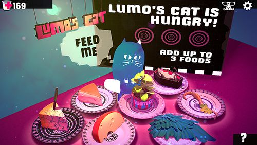 Écrans du jeu Lumo's сat pour iPhone, iPad ou iPod.