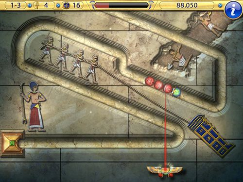Download Luxor 2 iPhone free game.