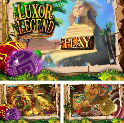 In addition to the game The Magician Of Oz for iPhone, iPad or iPod, you can also download Luxor Legend for free.