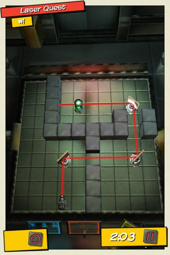 Capturas de pantalla del juego MacGyver: Deadly descent para iPhone, iPad o iPod.