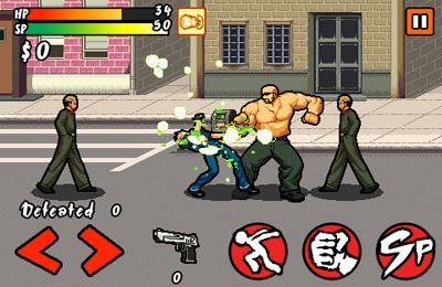 Capturas de pantalla del juego Mad City Monsters para iPhone, iPad o iPod.