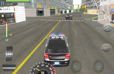 Capturas de pantalla del juego Mad Cop 3 para iPhone, iPad o iPod.