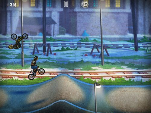 Descarga gratuita de Mad skills BMX para iPhone, iPad y iPod.