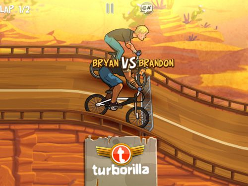 Capturas de pantalla del juego Mad skills BMX para iPhone, iPad o iPod.