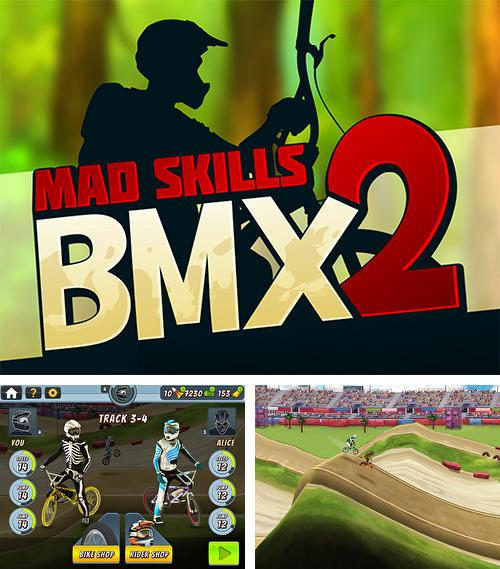In addition to the game N.O.V.A. 2 - Near Orbit Vanguard Alliance for iPhone, iPad or iPod, you can also download Mad skills BMX 2 for free.