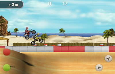 Capturas de pantalla del juego Mad Skills Motocross para iPhone, iPad o iPod.