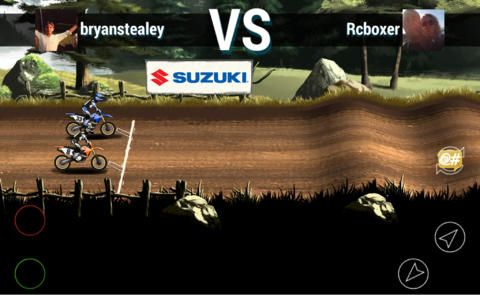 Screenshots of the Mad skills motocross 2 game for iPhone, iPad or iPod.