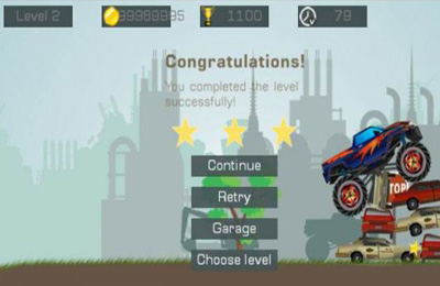 Download Mad Truck 2 iPhone free game.