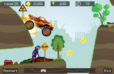 Descarga gratuita de Mad Truck 2 para iPhone, iPad y iPod.