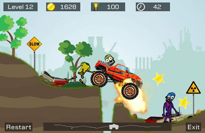 Capturas de pantalla del juego Mad Truck 2 para iPhone, iPad o iPod.