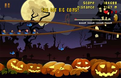 Screenshots of the Madcoaster game for iPhone, iPad or iPod.