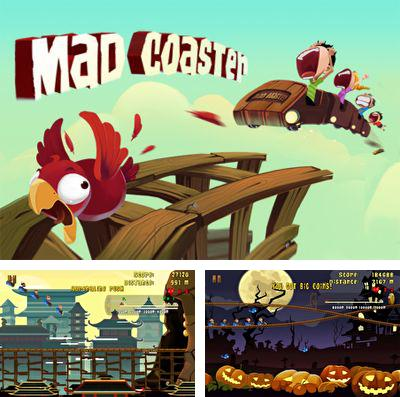 In addition to the game Mutant zombies for iPhone, iPad or iPod, you can also download Madcoaster for free.