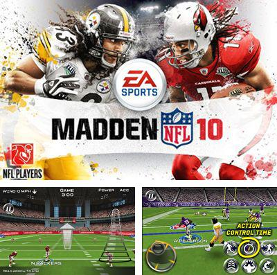 In addition to the game Ghostsweeper: Haunted Halloween for iPhone, iPad or iPod, you can also download MADDEN NFL 10 by EA SPORTS for free.