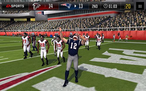 Capturas de pantalla del juego Madden: NFL football para iPhone, iPad o iPod.