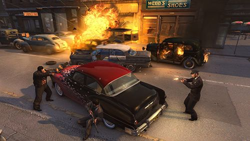 Screenshots of the Mafia 3: Rivals game for iPhone, iPad or iPod.