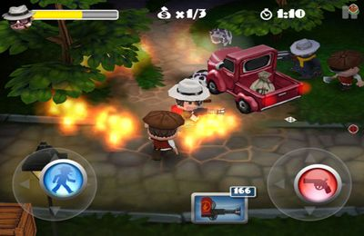 Screenshots do jogo Mafia Rush para iPhone, iPad ou iPod.