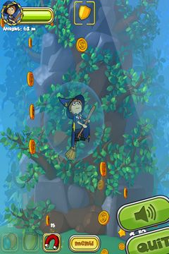 Screenshots do jogo Magbaden World - Fly para iPhone, iPad ou iPod.