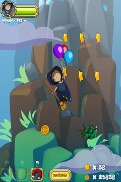 Capturas de pantalla del juego Magbaden World - Fly para iPhone, iPad o iPod.