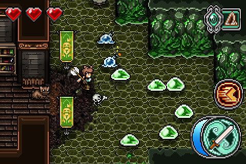 Screenshots of the Mage gauntlet game for iPhone, iPad or iPod.