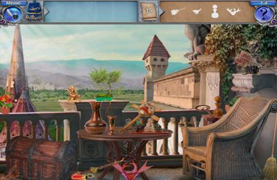 Screenshots vom Spiel Magic Academy 2: hidden object castle quest für iPhone, iPad oder iPod.