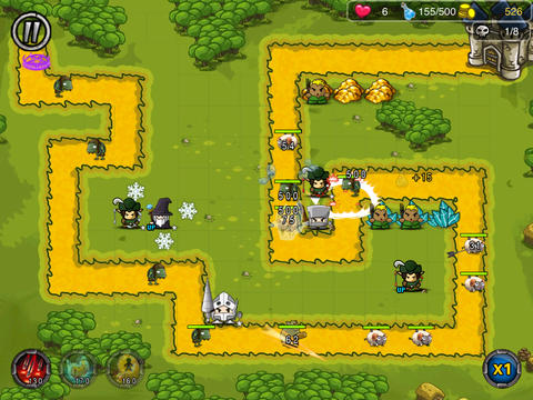Screenshots vom Spiel Magic Craft: The Hero of Fantasy Kingdom für iPhone, iPad oder iPod.
