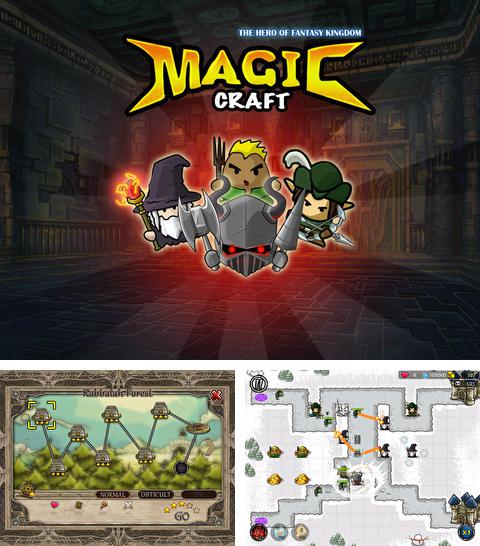 In addition to the game Kill Devils - kill monsters to resist invasion & unite races! for iPhone, iPad or iPod, you can also download Magic Craft: The Hero of Fantasy Kingdom for free.