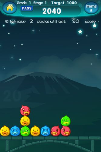 Screenshots of the Magic duck: Unlimited game for iPhone, iPad or iPod.