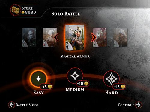 Download Magic duels iPhone free game.