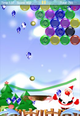 Скачать игру Magic Finger: Christmas Bubble для iPad.