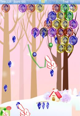 Игра Magic Finger: Christmas Bubble для iPhone