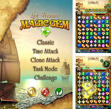 In addition to the game Pocket Climber for iPhone, iPad or iPod, you can also download Magic Gem for free.
