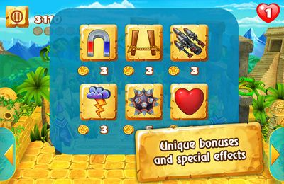 Écrans du jeu Magic Orbz pour iPhone, iPad ou iPod.