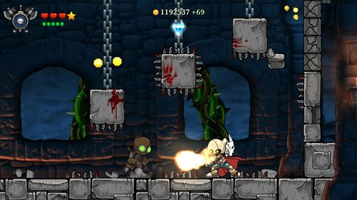 Screenshots of the Magic rampage game for iPhone, iPad or iPod.