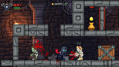 Screenshots vom Spiel Magic rampage für iPhone, iPad oder iPod.