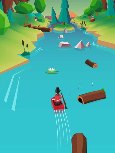 Capturas de pantalla del juego Magic river para iPhone, iPad o iPod.