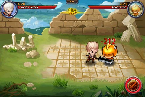 Capturas de pantalla del juego Magic tower story para iPhone, iPad o iPod.