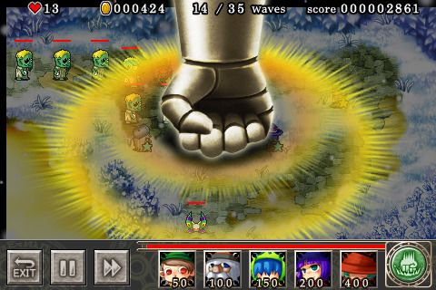 Descarga gratuita de Magical tower defense para iPhone, iPad y iPod.