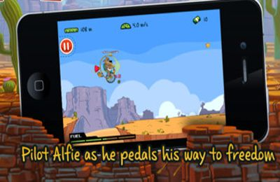 Screenshots of the Magnificent Alfie game for iPhone, iPad or iPod.