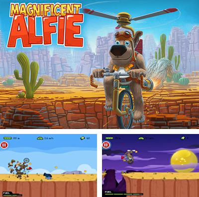 In addition to the game Cosmic challenge for iPhone, iPad or iPod, you can also download Magnificent Alfie for free.