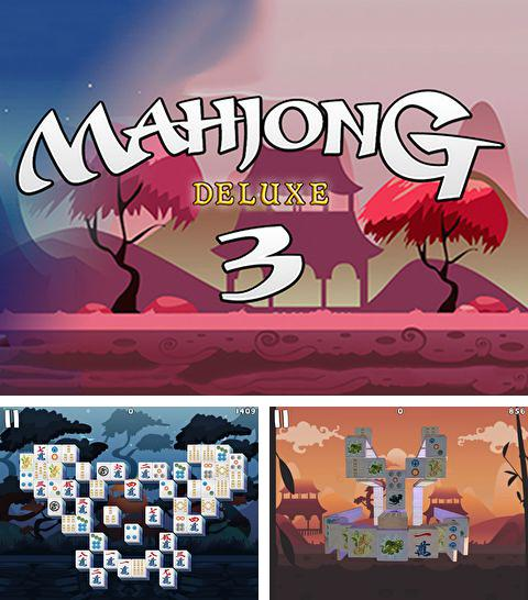 In addition to the game Candy Crush Saga for iPhone, iPad or iPod, you can also download Mahjong: Deluxe 3 for free.