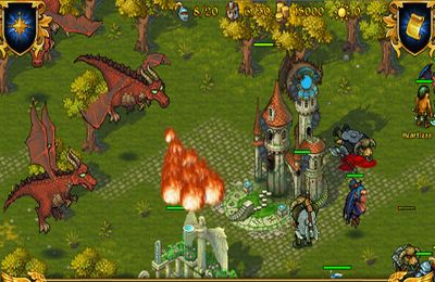 Screenshots vom Spiel Majesty: The Fantasy Kingdom Sim für iPhone, iPad oder iPod.
