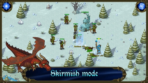 Screenshots do jogo Majesty: The Northern Expansion para iPhone, iPad ou iPod.