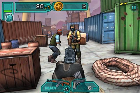 Screenshots do jogo Major Gun para iPhone, iPad ou iPod.