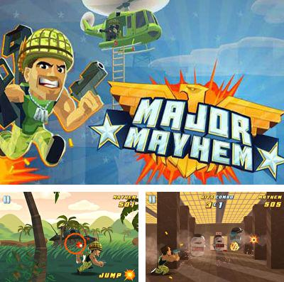 In addition to the game Pota-Toss World Tour: a Fun Location Based Adventure for iPhone, iPad or iPod, you can also download Major Mayhem for free.