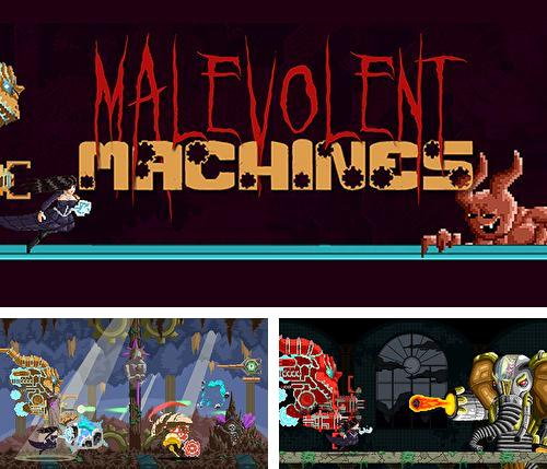In addition to the game Cloud vs. balloons: Light for iPhone, iPad or iPod, you can also download Malevolent machines for free.